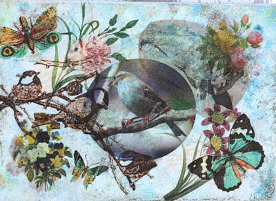 Mixed Media - Nature 5 by Dawn Boswell Burke