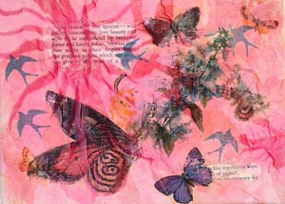 Mixed Media - Nature 9 by Dawn Boswell Burke