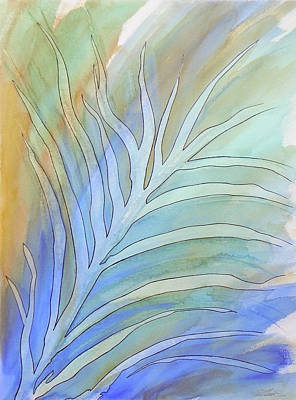 Painting - Nature Abstract 1 by Paul Miners