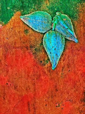 Nature Abstract 11 Art Print by Maria Huntley