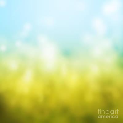 Playground Painting - Nature by Atiketta Sangasaeng