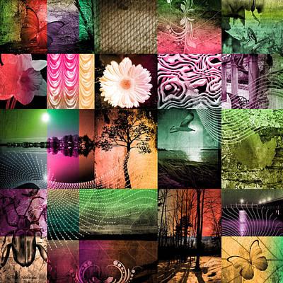 Soft Digital Art - Nature In Light Colors  by Mark Ashkenazi