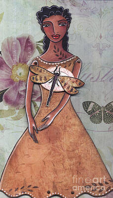 African American Mixed Media - Nature by Elaine Jackson