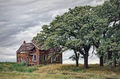 Old Abandoned Farmhouse Photograph - Nature Encroaches - 2 by Nikolyn McDonald