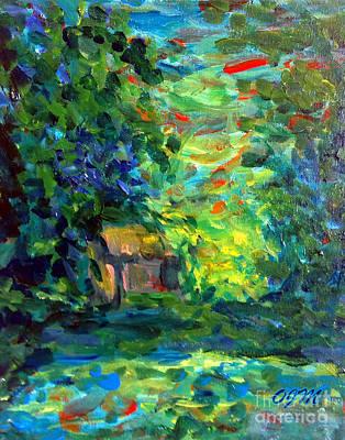 Quietness Painting - Nature Escape by Owen McCafferty