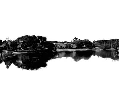 Lal Bagh Painting - Nature In Black And White by Usha Shantharam