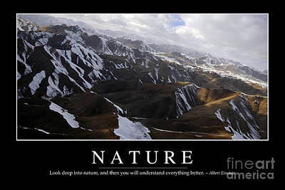 Photograph - Nature Inspirational Quote by Stocktrek Images
