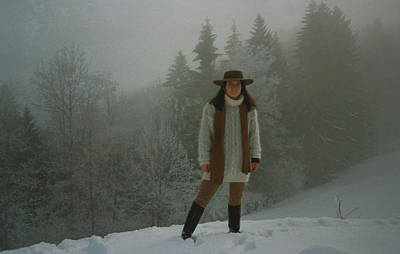 Selfportrait Photograph - Nature Joy In The Swiss Alps by Colette V Hera  Guggenheim
