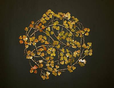 Nature Mandala Original by Kelly Smith Cassidy
