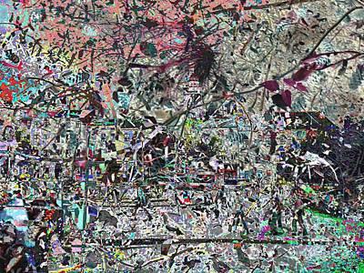 Mess Mixed Media - Nature Or The City by Dana Hermanova