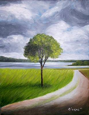 Painting - Nature Path by Rivkah Singh