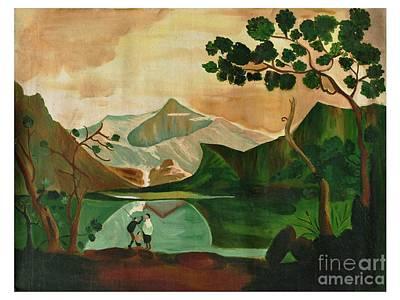Indian Painting - Nature by Purnima Jain