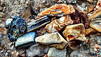 Photograph - Nature Rocks by Peggy Franz