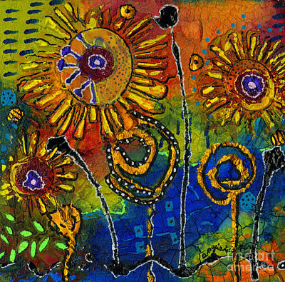Mixed Media - Nature Sings by Angela L Walker