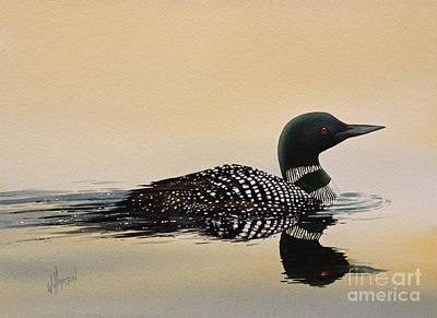Loon Painting - Nature So Fair by James Williamson