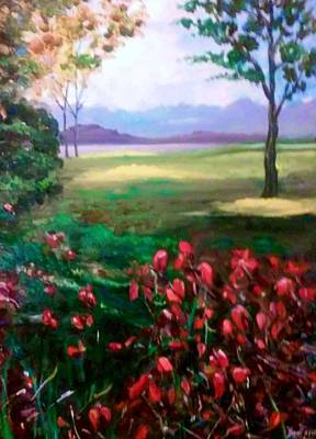 Painting - Nature's Beauty by Ray Khalife