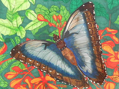 Natures Beauty Art Print by Willie McNeal
