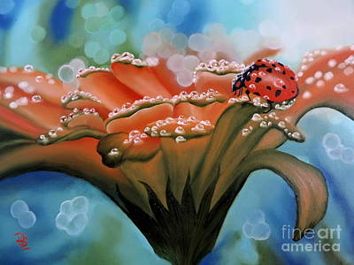 Painting - Natures Blessings by Dianna Lewis