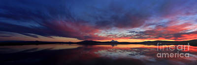 Mt. Shasta Photograph - Natures Colors by Beve Brown-Clark Photography