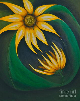 Cycles Painting - Nature's Cycle by Marie Spence