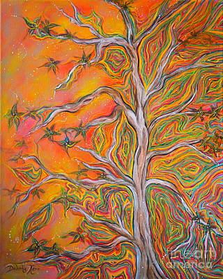Painting - Nature's Energy by Deborha Kerr