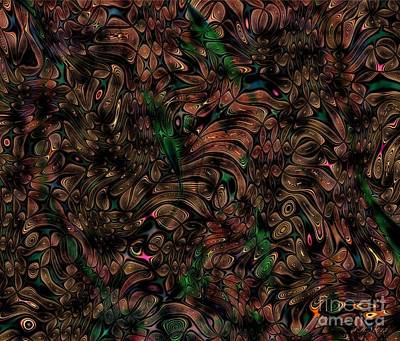 Digital Art - Nature's Forest by Peter R Nicholls