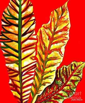 Painting - Nature's Gifts by Julie  Hoyle