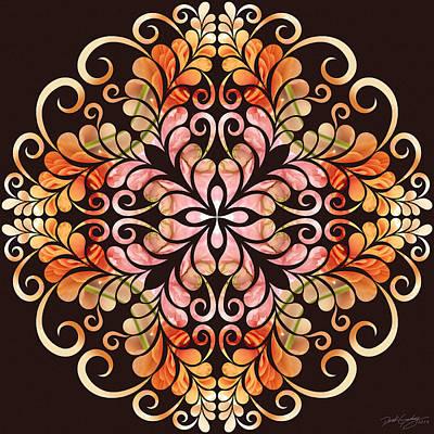 Digital Art - Nature's Mandala 09 by Derek Gedney