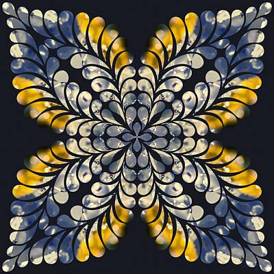 Digital Art - Nature's Mandala 10 by Derek Gedney