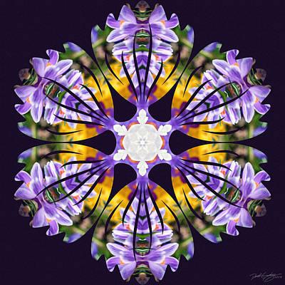 Digital Art - Nature's Mandala 23 by Derek Gedney