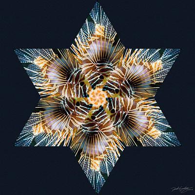 Digital Art - Nature's Mandala 30 by Derek Gedney