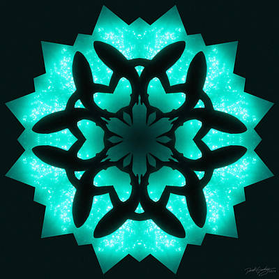 Digital Art - Nature's Mandala 32 by Derek Gedney
