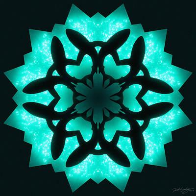 Digital Art - Nature's Mandala 32 by Derek Gedney