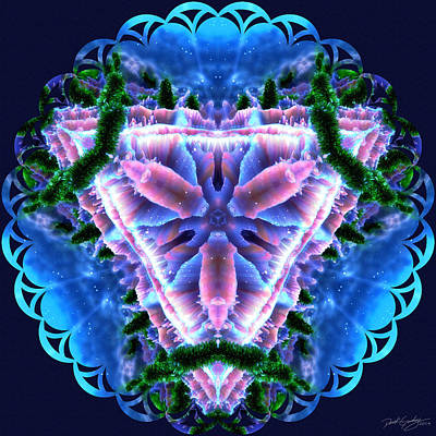 Digital Art - Nature's Mandala 34 by Derek Gedney