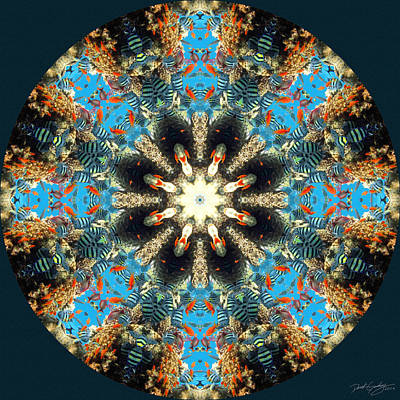 Digital Art - Nature's Mandala 36 by Derek Gedney