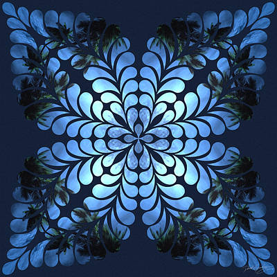 Digital Art - Nature's Mandala 39 by Derek Gedney