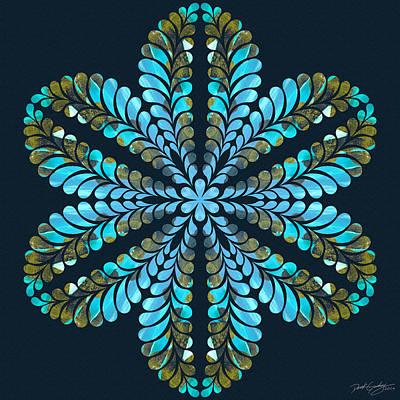 Digital Art - Nature's Mandala 41 by Derek Gedney