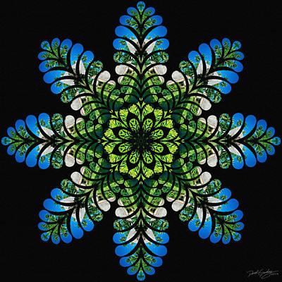 Digital Art - Nature's Mandala 45 by Derek Gedney