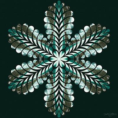 Digital Art - Nature's Mandala 47 by Derek Gedney