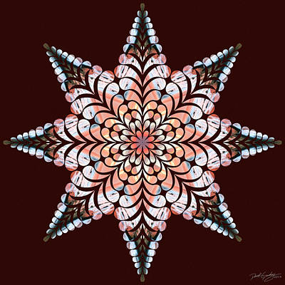 Digital Art - Nature's Mandala 49 by Derek Gedney