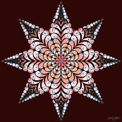 Digital Art - Nature's Mandala 49 by Derek Gedney
