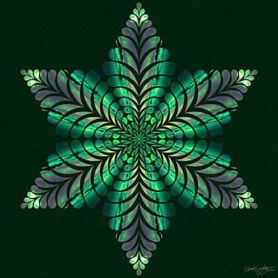 Digital Art - Nature's Mandala 50 by Derek Gedney