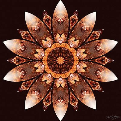 Digital Art - Nature's Mandala 55 by Derek Gedney