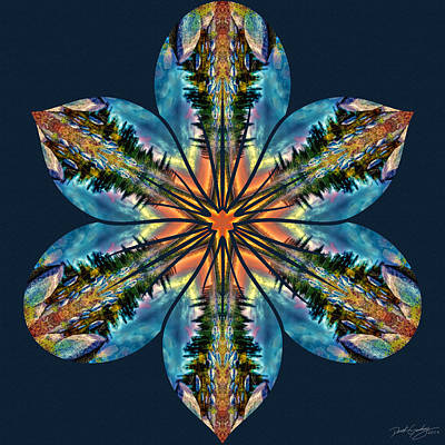 Digital Art - Nature's Mandala 59 by Derek Gedney