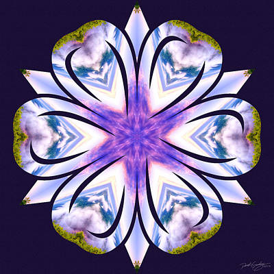 Digital Art - Nature's Mandala 60 by Derek Gedney
