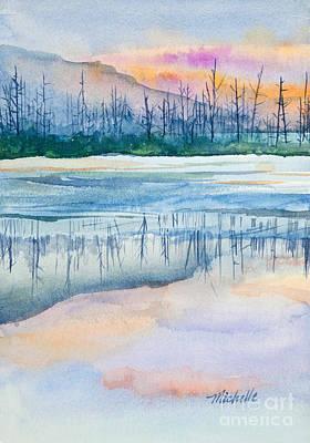 Nature's Mirror Art Print by Michelle Wiarda