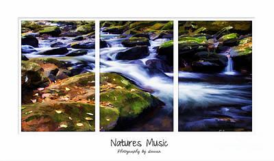 Natures Music Art Print by Darren Fisher