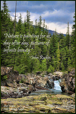 Photograph - Nature's Painting by Shari Jardina