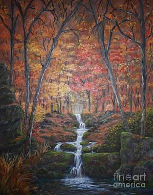 Painting - Natures Pathway by Marlene Kinser Bell
