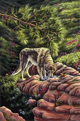 Painting - Natures Place by Lori Salisbury